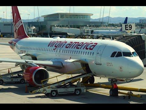 Virgin America FIRST Class - A320 - Las Vegas to San Francisco (VX909)