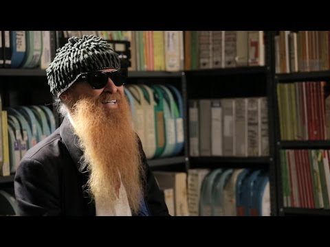 Billy Gibbons - Interview - 11/5/2015 - Paste Studios, New York, NY