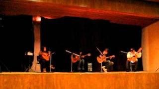 DESESPERADO, (EL MARIACHI, MORENA DE MI CORAZON) RAMIRO ZACARIAS GUIT-ART QUARTET EN VIVO