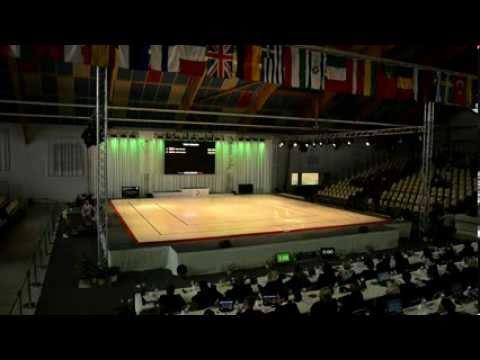 2013 Aerobic European Championships, Arques (FRA) - Qualifications Women, Trios