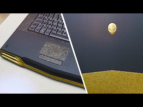 Trash to Gold - Alienware M15X Full Restoration + MOD + Upgrades