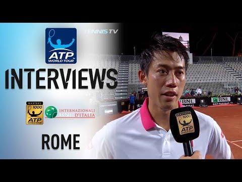 Nishikori Says He Played Nearly 'Perfect' To Advance In Rome 2018