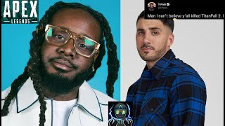 T-Pain Comments On Apex Legends, Titanfall 2, and NICKMERCS