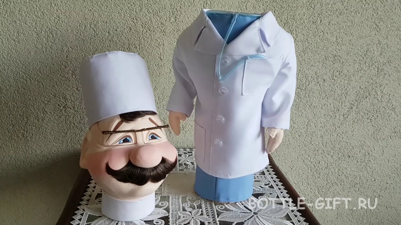 "Подарок врачу - Кукла-бар ""Доктор"""
