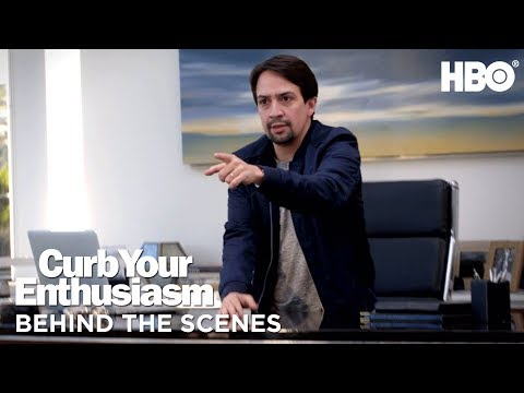 BTS: Lin-Manuel Miranda's Curb Dreams | Curb Your Enthusiasm | Season 9