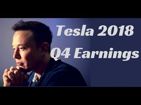 Tesla 2018 Q4 Earnings Call (No Ads)