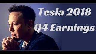 Tesla 2018 Q4 Earnings Call (No Ads)