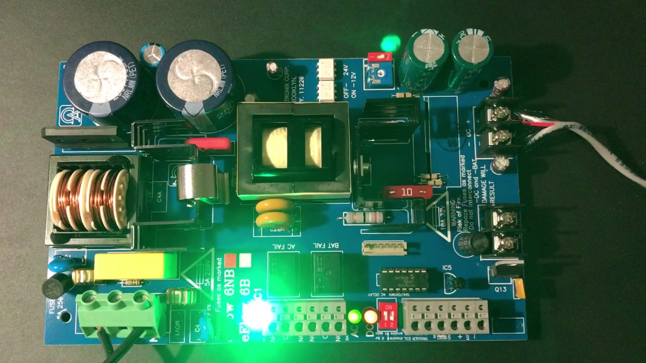 altronix eflow power supply [ 1280 x 720 Pixel ]