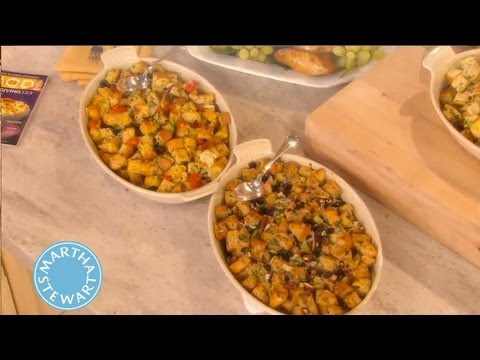 Basic Bread Stuffing How-To   Thanksgiving Recipes   Martha Stewart