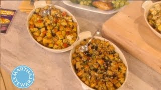 Basic Bread Stuffing How-to | Thanksgiving Recipes | Martha Stewart