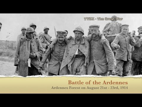 1914-09 Battle of Ardennes - August 21 - 23 1914