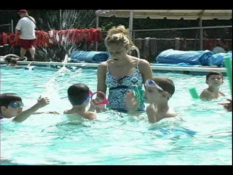 swimming at willow lake day camp youtube