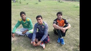 Kernel Zahid, Ahsan Chita and Inam Kalia from Lahore