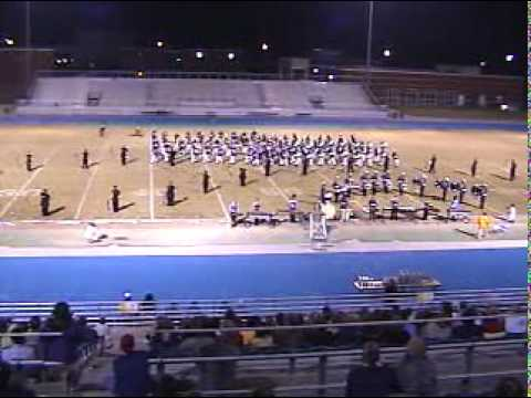 ?Columbus High School Falcons Marching Band Competition Danse Macabre 2001-2002 CHS  Mississippi