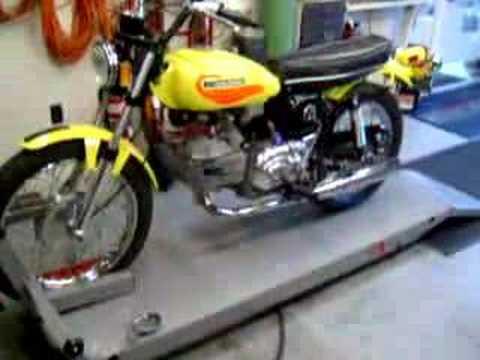 1972 aermacchi harley davidson sprint SS350 FLORIDA  YouTube