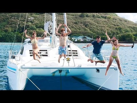 Gone With The Wynns & Sailing Ruby Rose Crossover | Sailing French Polynesia | Part 1