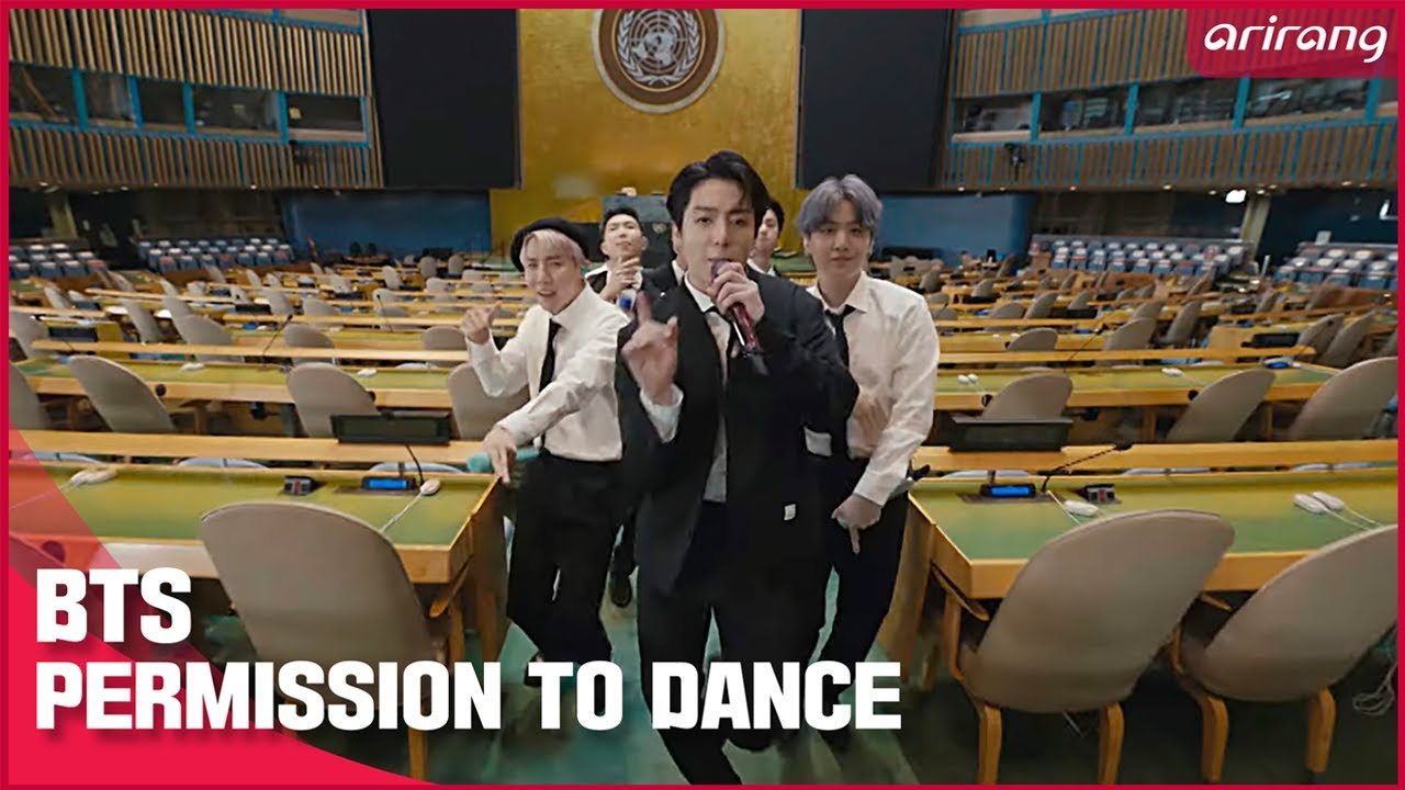 BTS 'PERMISSION TO DANCE' PLAYS AT UN GENERAL ASSEMBLY  |  SDG Moment 2021