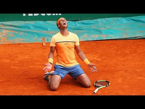 Nadal Downs Monfils Monte Carlo 2016 Final Highlight