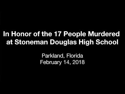 Mural Painting in Honor of Stoneman Douglas High School