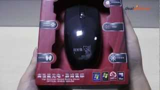 LZ-X5 USB Wired 1000DPI Optical Gaming Mouse (120cm-Cable)-DX