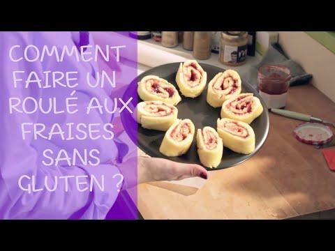 comment-faire-un-roulé-aux-fraises-sans-gluten