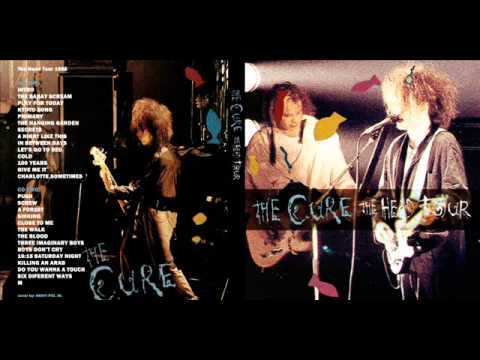 The Cure - Secrets, The Head Tour 1985 (total repertoar)