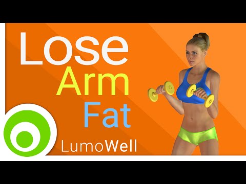 How To Lose Arm Fat? Arm Toning Exercises.