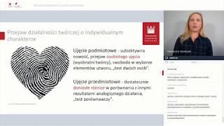 Wybrane zagadnienia prawa autorskiego   Webinarium NCK