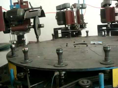 Waheguru Impex 6 Head Rotary Table Polishing Machine Wmv