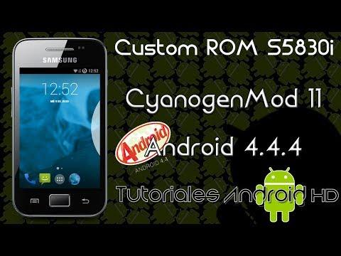 XML Tutorial Video - Cómo rootear Samsung Galaxy Ace GT-S5830i-c-m GT ...