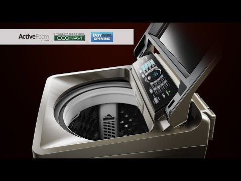 Introducing Panasonic Top Loading Washing Machine X1 series (NA-F135X1 / NA-F115X1 / NA-F90X1) [NEW]