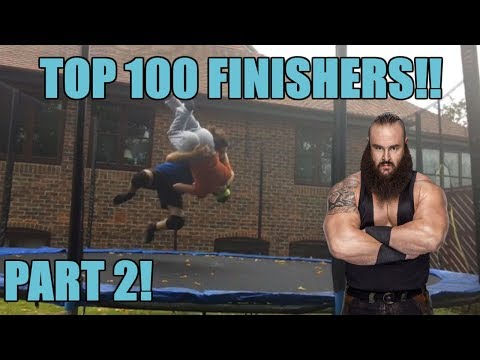 Our Top 100 WWE Finishers of 2018 [2/4]
