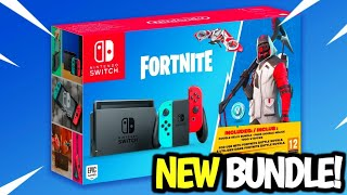 *NEW* BUNDLE! FORTNITE NINTENDO SWITCH BUNDLE! DOUBLE HELIX SKIN + 1000 VBUCKS