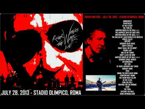 Roger Waters - The Wall Live 28.07.2013 Roma (Italy) Stadio Olimpico Mp3