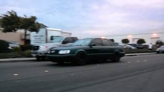 Audi Urs4 rwd Torsen Diff test