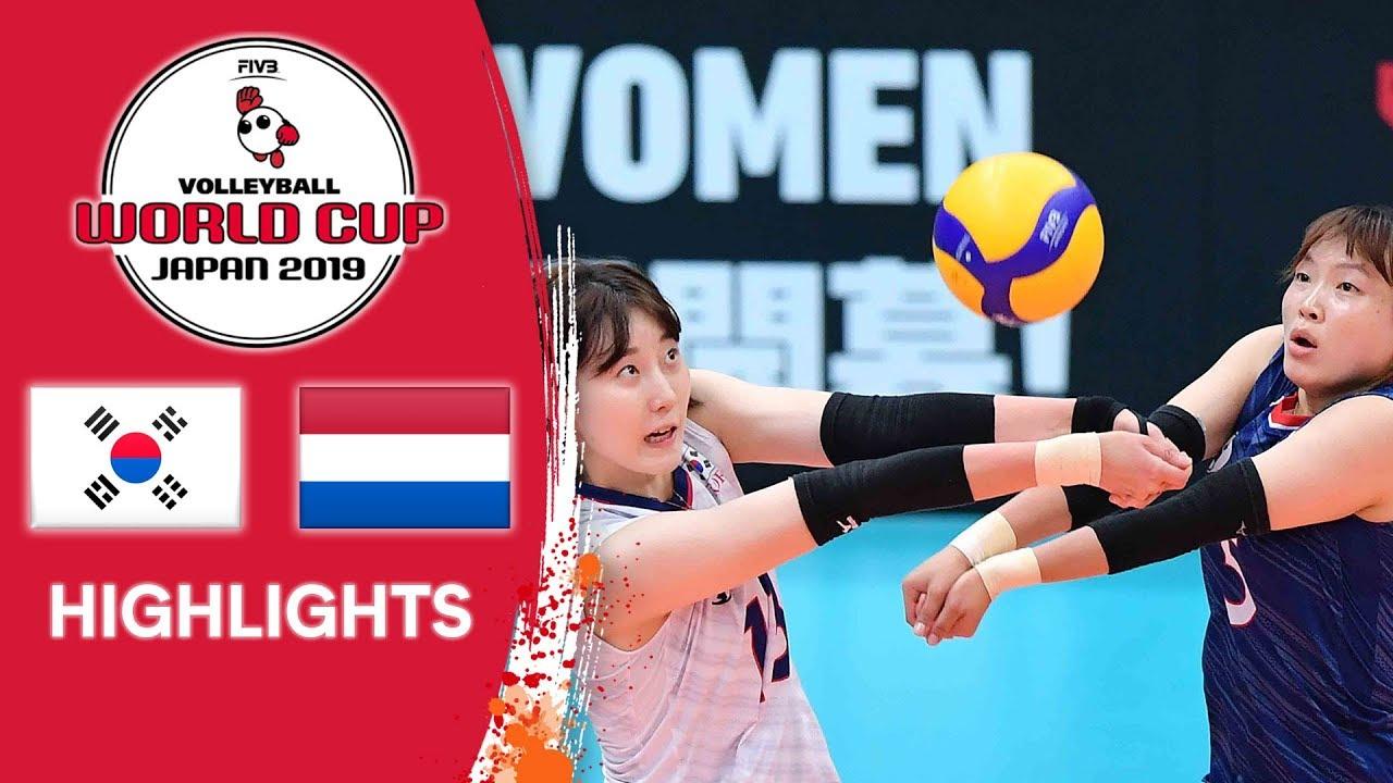 KOREA vs. NETHERLANDS - Highlights | Women's Volleyball World Cup 2019