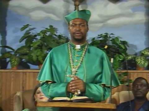 Bishop Don Magic Juan Preeching at church public tv pt. 1
