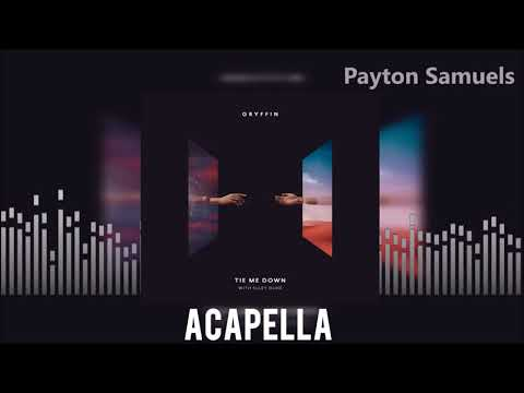 Gryffin Feat. Elley Duhe  - Tie Me Down (Acapella)