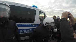 POLIZEIGEWALT IM/AM HAMBACHER WALD 15.9.18