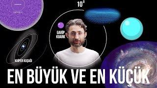 Evrende gözlemlenebilen en büyük ve en küçük şey nedir?