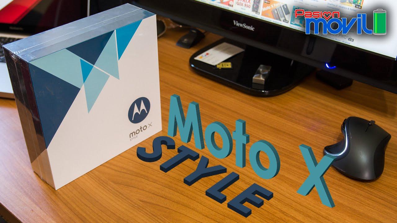Moto X Style , Unboxing en Español HD