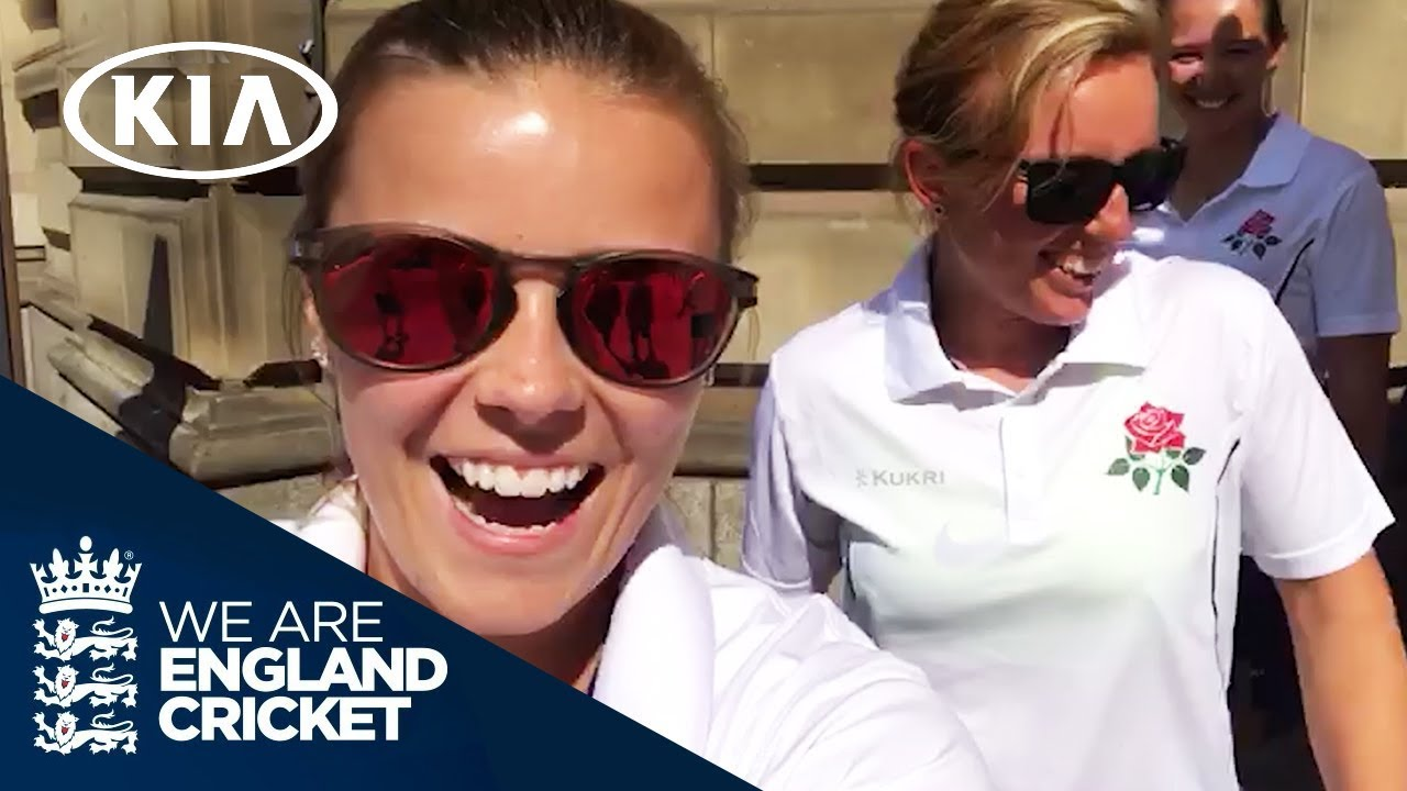 A Visit To Old Trafford!   KIA Dugout Diaries with England Women   Episode 3