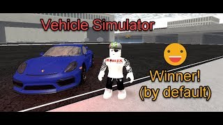 Roblox Vehicle Simulator Porsche GT4