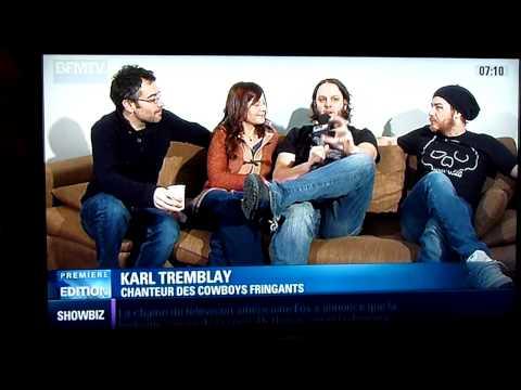 Reportage BFMTV sur Les Cowboys Fringants