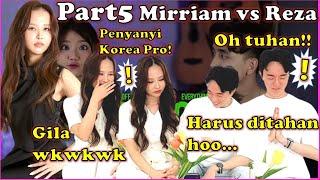 Penyanyi Cewek Korea Terkejut Lihat Sing Off Tiktok Songs Part V Build A B Tch Vs Mirriam Eka