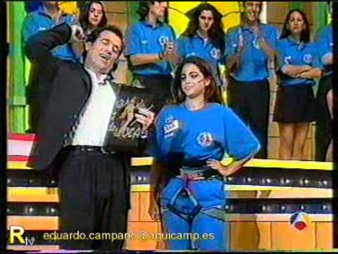 RecuerdaTV  Eugenia Santana El Juego de la Oca 1995  Antena 3