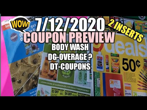 7 11 2020 Coupon Insert Review Dg Overage Dt Coupons Cheap Body Wash Walgreens Ibotta Cvs Youtube