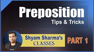 Preposition part 1