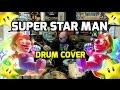 Super Star Man: Super Mario Brothers Drum Cover By Jason Heine