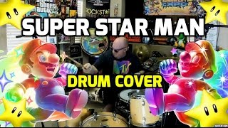 Super Star Man: Super Mario Brothers Drum Cover By Jason Heine